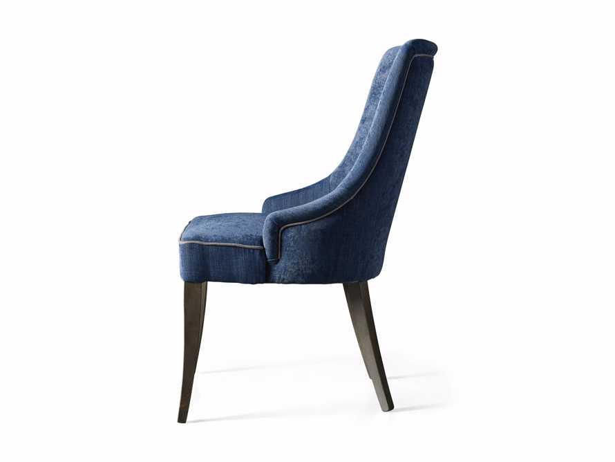 Elisa Dining Chair in Indaco Blue, slide 7 of 7