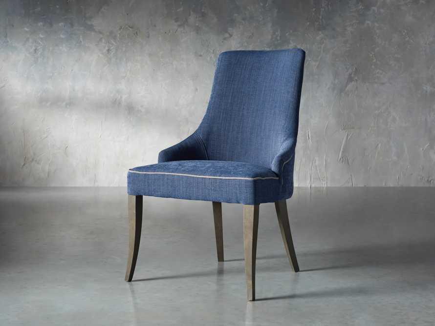 Elisa Dining Chair in Indaco Blue, slide 2 of 7