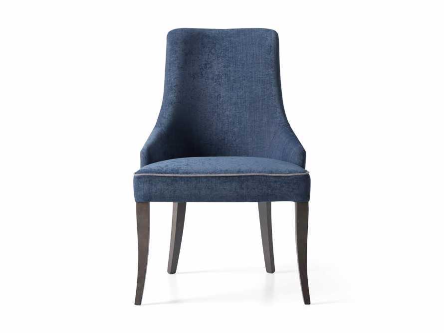 Elisa Dining Chair in Indaco Blue, slide 6 of 7