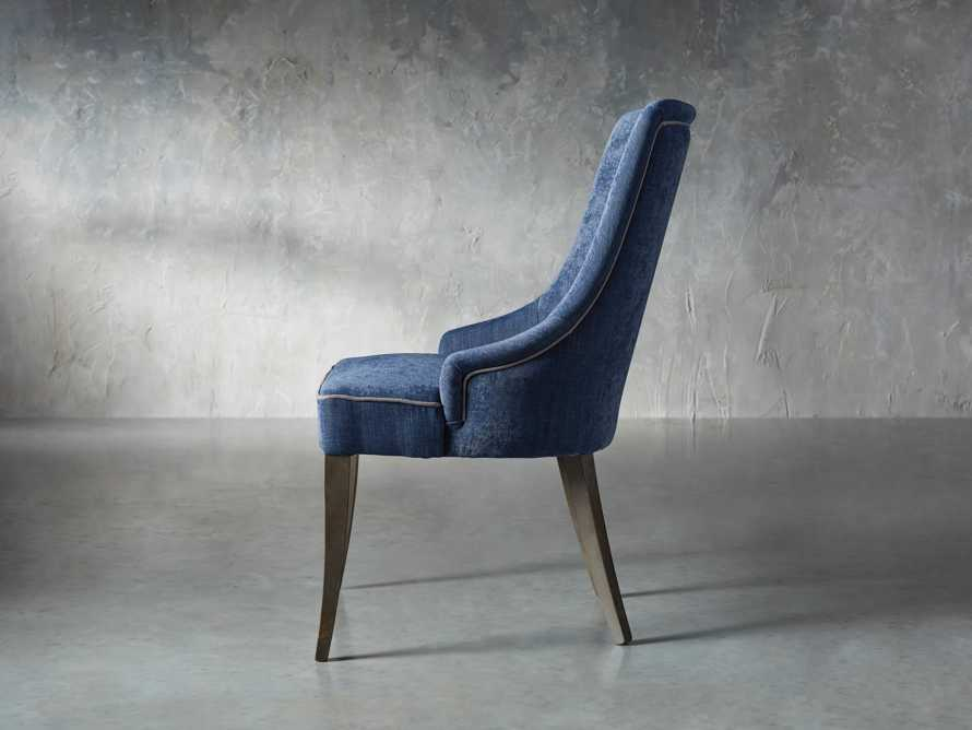 Elisa Dining Chair in Indaco Blue, slide 3 of 7