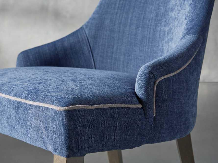 Elisa Dining Chair in Indaco Blue, slide 5 of 7