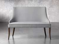 "Elisa 50"" Bench in Colomba Grey"