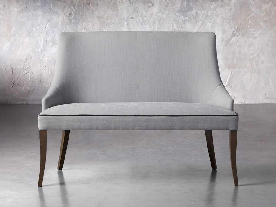 "Elisa 50"" Bench in Colomba Grey, slide 1 of 5"