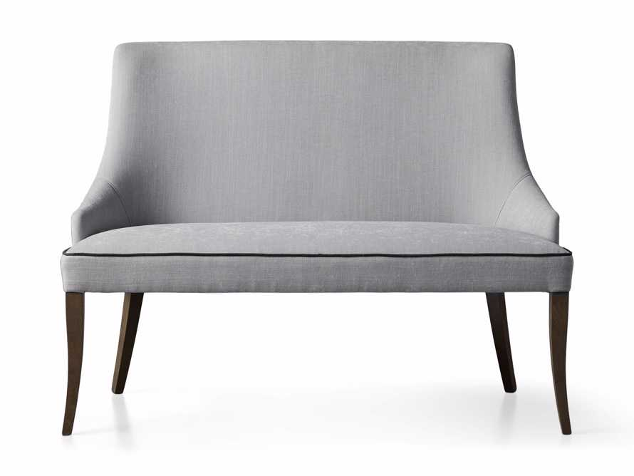 "Elisa 50"" Bench in Colomba Grey, slide 5 of 5"