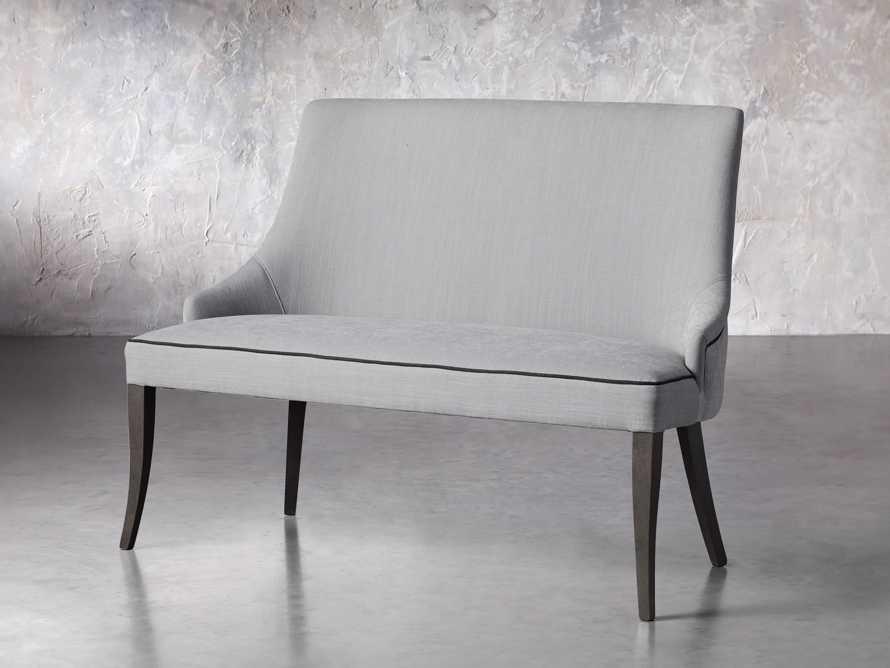 "Elisa 50"" Bench in Colomba Grey, slide 2 of 5"