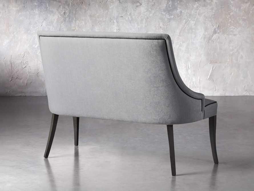 "Elisa 50"" Bench in Colomba Grey, slide 3 of 5"