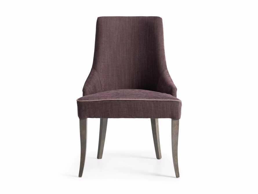 """Elisa 24"""" Dining Chair in Viola Plum"""