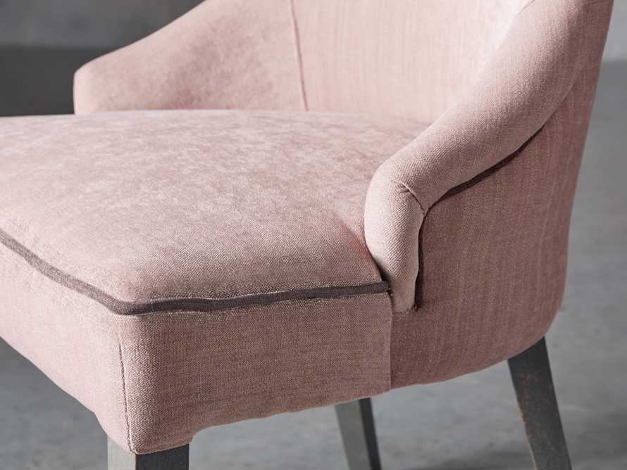 """Elisa 24"""" Dining Chair in Rosa Blush"""