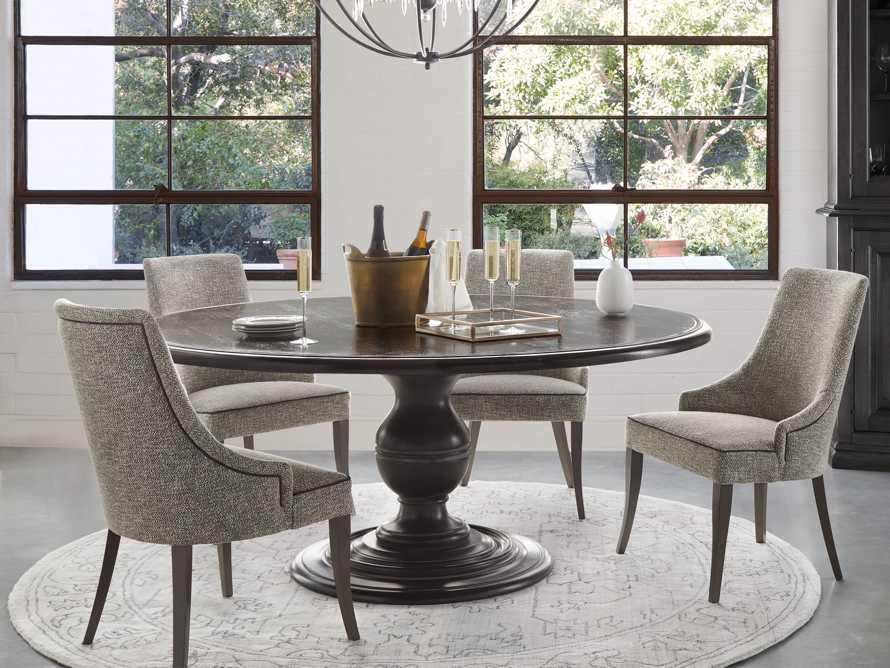 """Elisa 23"""" Dining Chair in Funky Grey, slide 1 of 8"""