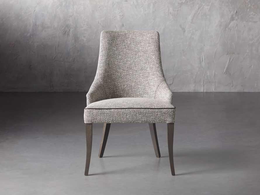 """Elisa 23"""" Dining Chair in Funky Grey, slide 2 of 8"""