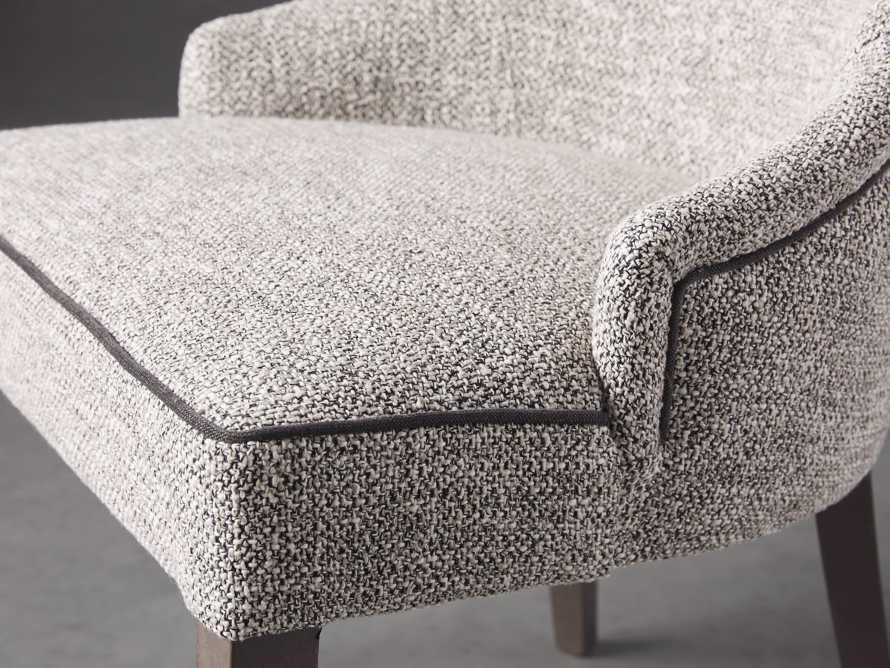 """Elisa 23"""" Dining Chair in Funky Grey, slide 6 of 8"""