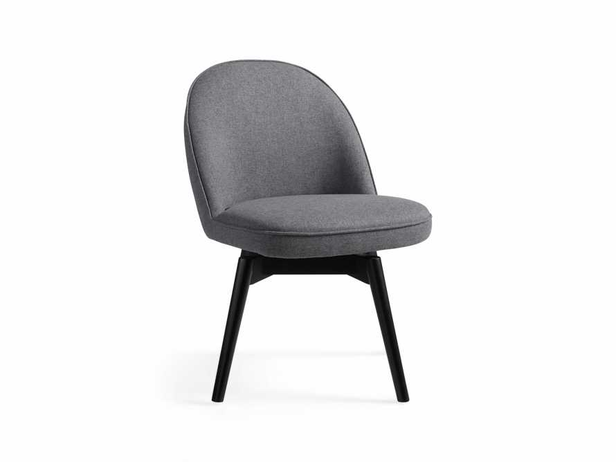 "Emily Upholstered 21"" Swivel Side Chair"