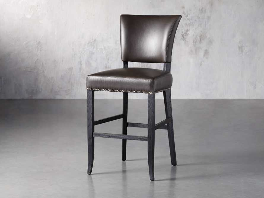 "Fallyn 21"" Faux Leather Barstool, slide 2 of 7"