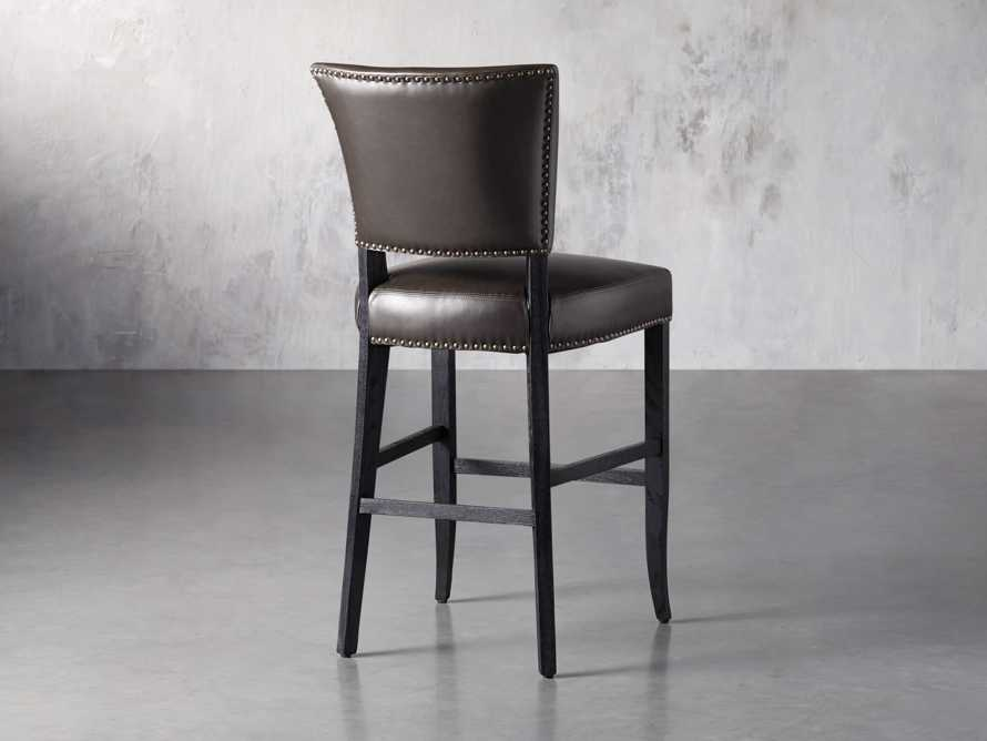 "Fallyn 21"" Faux Leather Barstool, slide 4 of 7"