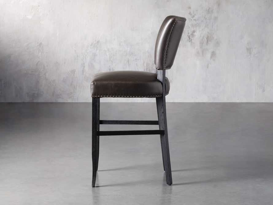 "Fallyn 21"" Faux Leather Barstool, slide 3 of 7"