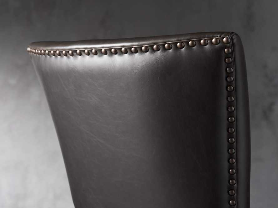 "Fallyn 21"" Faux Leather Barstool, slide 5 of 7"