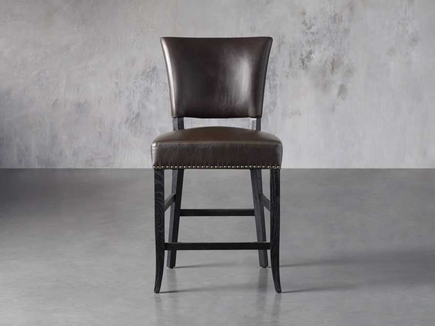 "Fallyn 21"" Faux Leather Counter Stool, slide 1 of 7"