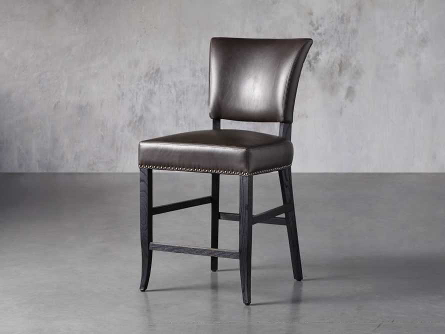 "Fallyn 21"" Faux Leather Counter Stool, slide 2 of 7"