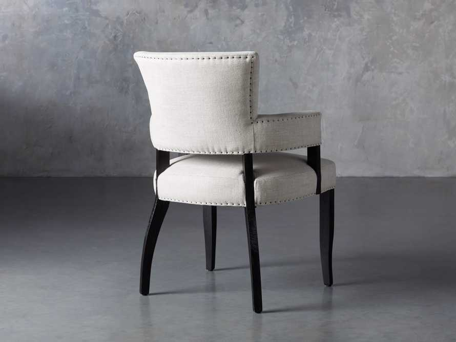 Fallyn Dining Arm Chair in Linen Natural, slide 5 of 10