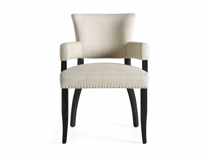 Fallyn Dining Arm Chair in Linen Natural, slide 9 of 10