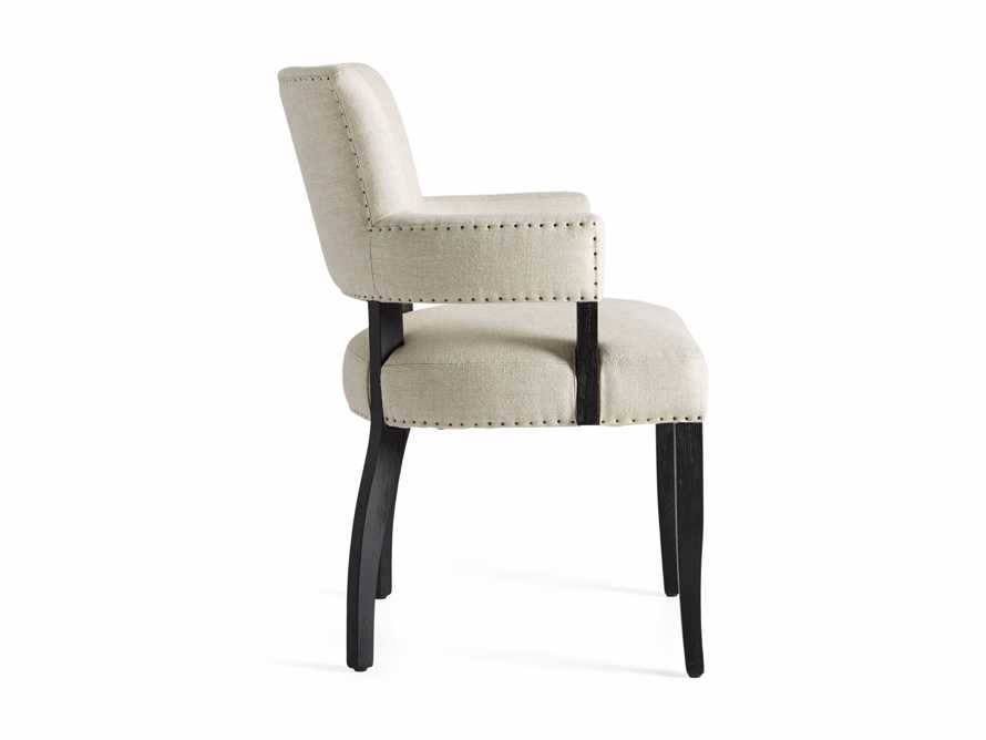 Fallyn Dining Arm Chair in Linen Natural, slide 10 of 10