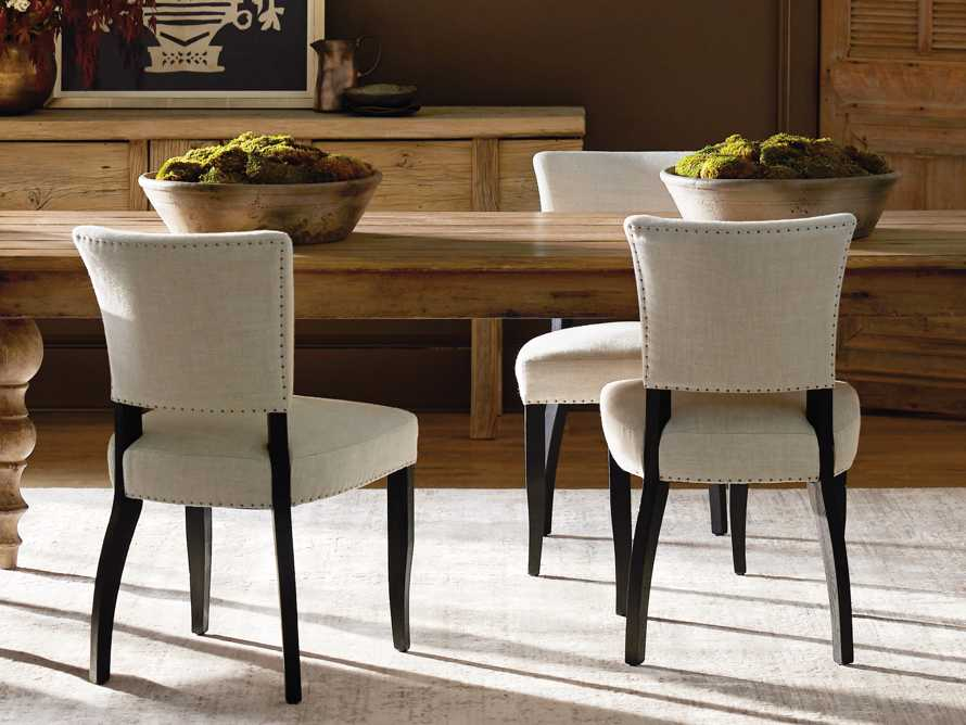 Fallyn Dining Side Chair in Linen Natural, slide 8 of 11