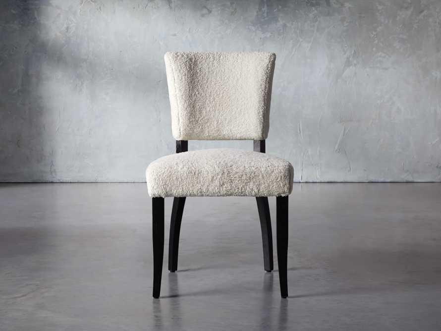 """Fallyn 21"""" Dining Side Chair in Faux Shearling"""