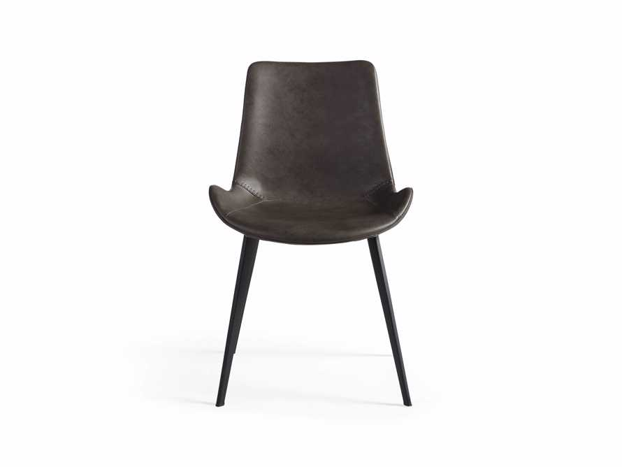 "Gage 20"" Dining Side Chair in Carbon, slide 6 of 6"