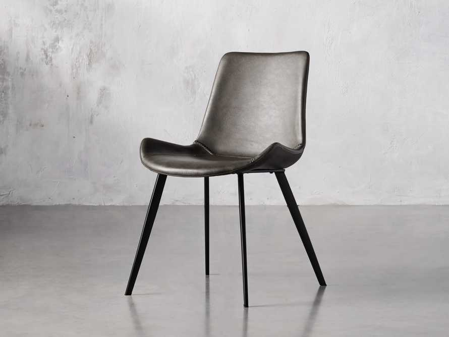 "Gage 20"" Dining Side Chair in Carbon, slide 2 of 6"