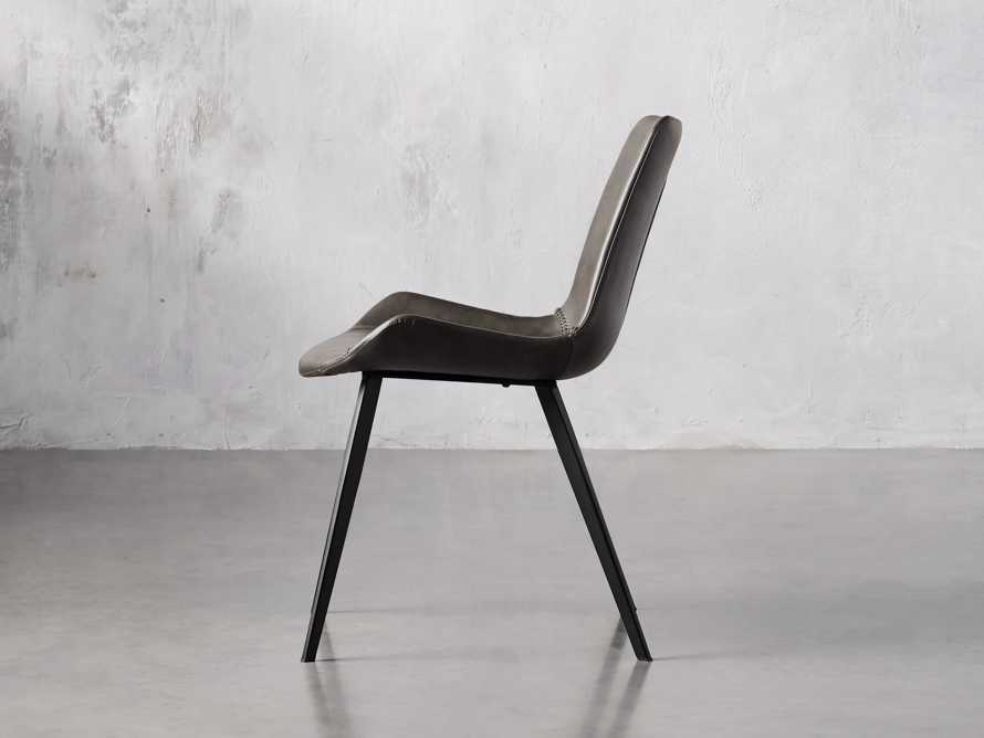 "Gage 20"" Dining Side Chair in Carbon, slide 3 of 6"