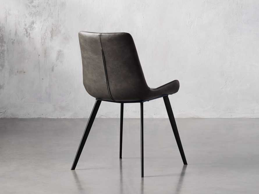 "Gage 20"" Dining Side Chair in Carbon, slide 4 of 6"