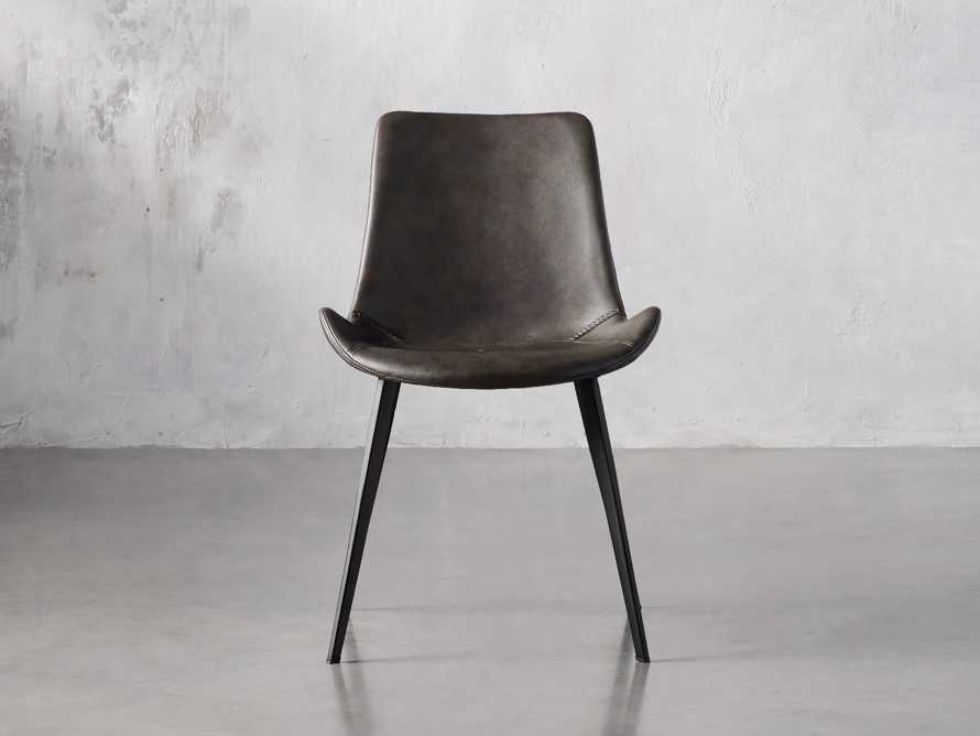 "Gage 20"" Dining Side Chair in Carbon, slide 1 of 6"