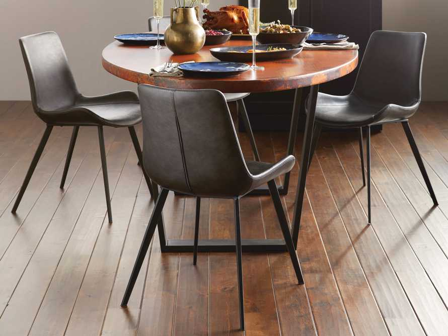 """Gage 20"""" Dining Side Chair in Carbon, slide 1 of 7"""