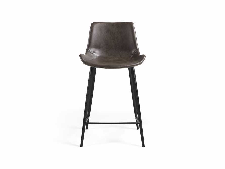 "Gage 20"" Counter Stool in Carbon, slide 6 of 7"