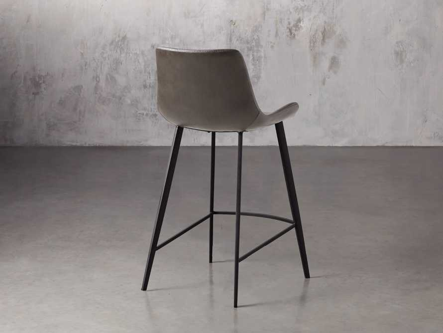"Gage 20"" Counter Stool in Carbon, slide 4 of 7"