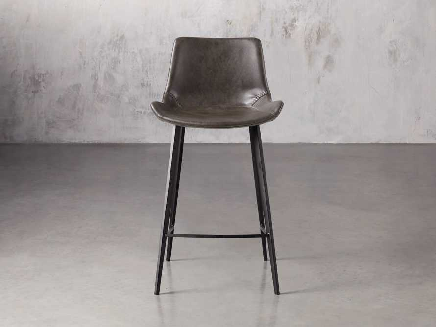 "Gage 20"" Counter Stool in Carbon, slide 1 of 7"