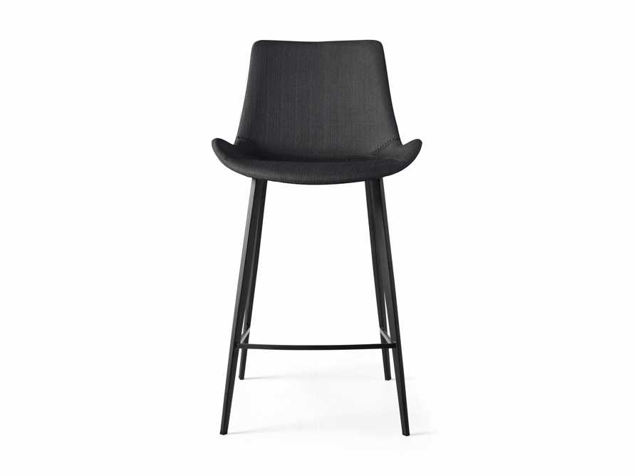 "Gage Upholstered 20"" Counter Stool in Coal, slide 5 of 6"