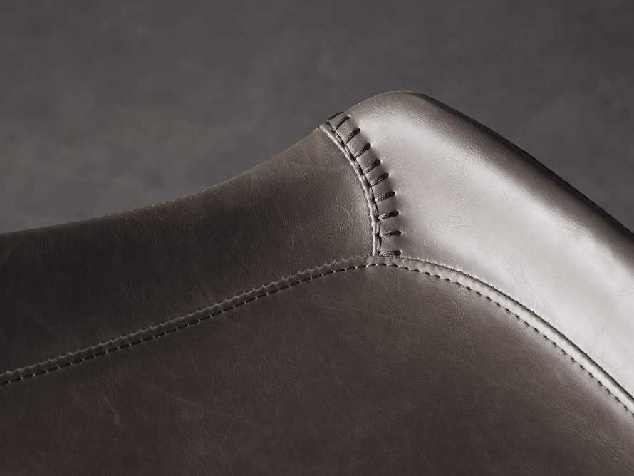 Gage Backless Bar Stool in Carbon, slide 5 of 7