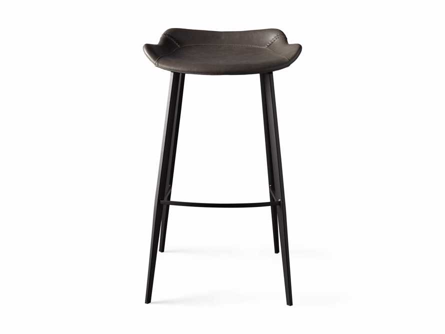 Gage Backless Bar Stool in Carbon, slide 6 of 7