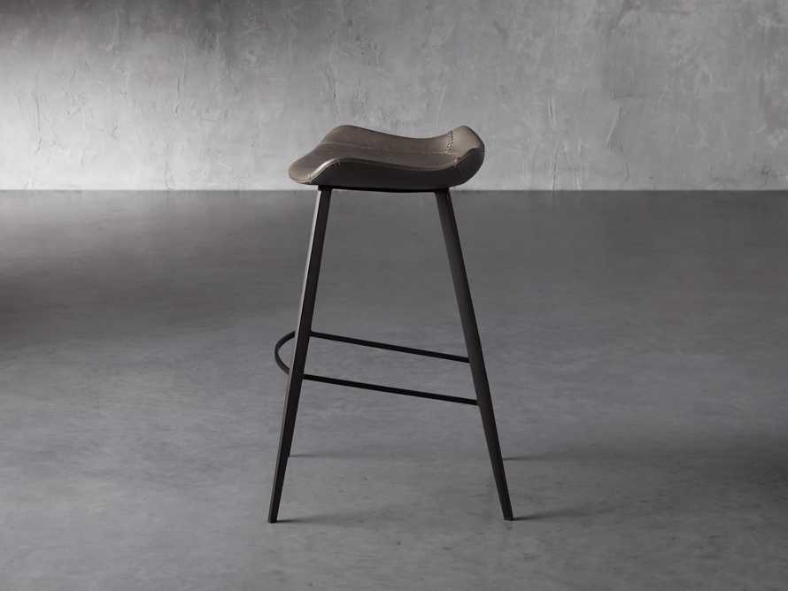 Gage Backless Bar Stool in Carbon, slide 3 of 7