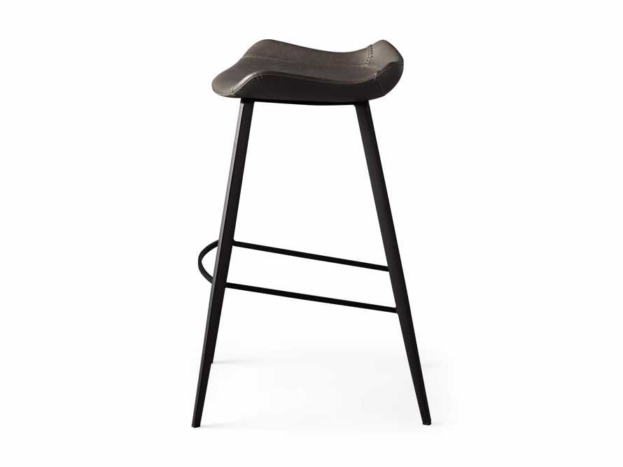 Gage Backless Bar Stool in Carbon, slide 7 of 7