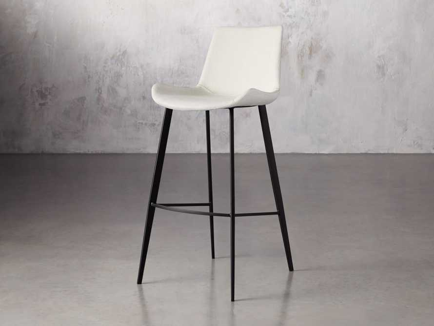 "Gage Upholstered 20"" Barstool in Fawn, slide 2 of 6"