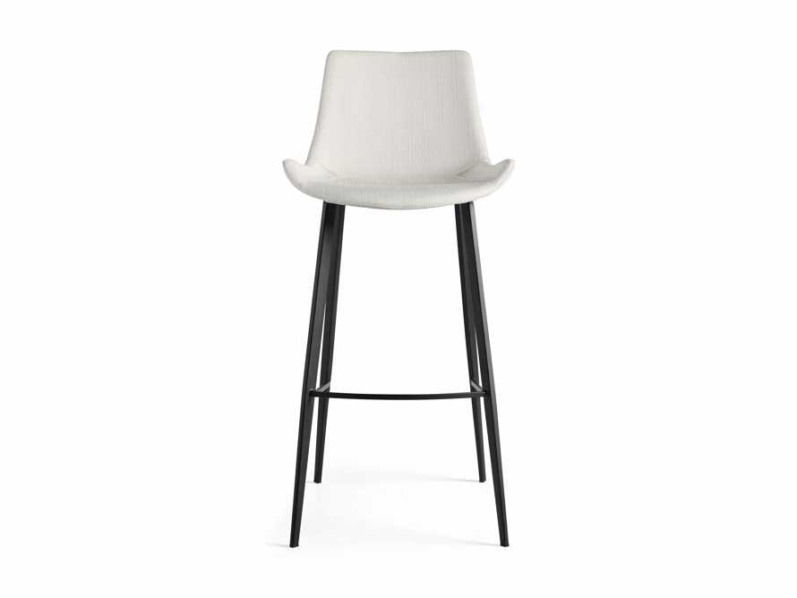 "Gage Upholstered 20"" Barstool in Fawn, slide 5 of 6"