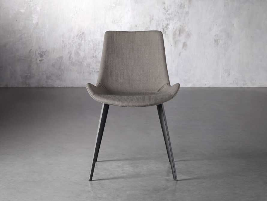 Gage Upholstered Dining Side Chair in Khaki, slide 1 of 7