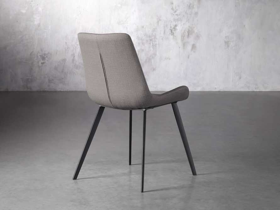 Gage Upholstered Dining Side Chair in Khaki, slide 4 of 7