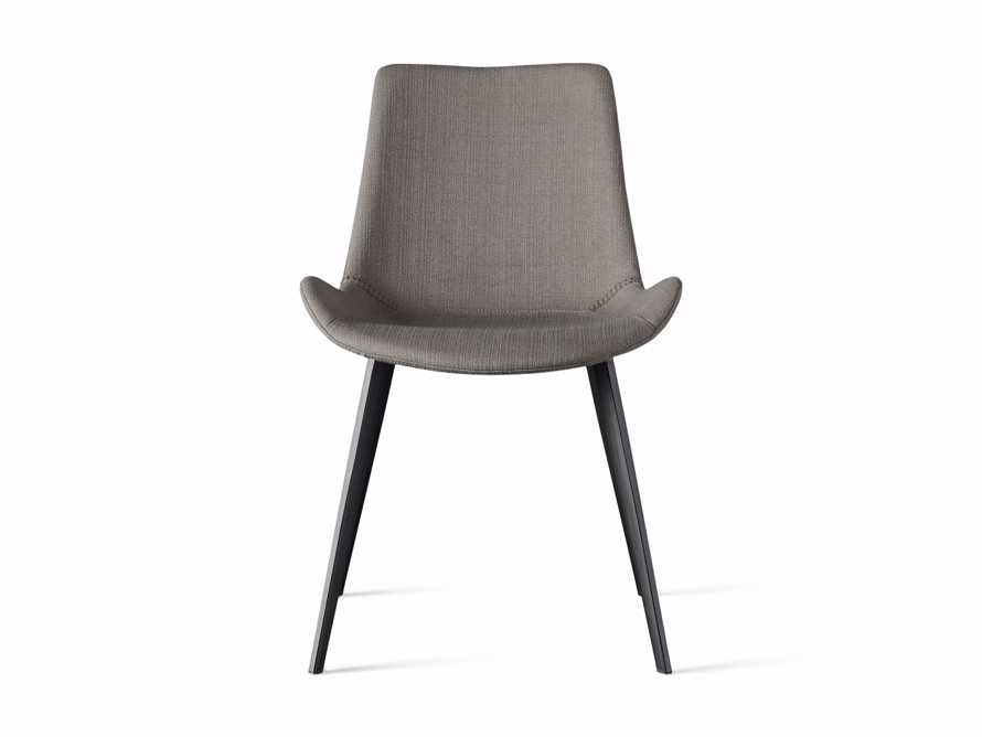 Gage Upholstered Dining Side Chair in Khaki, slide 6 of 7