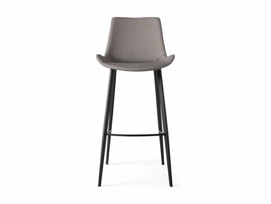 Gage Upholstered Barstool in Khaki, slide 5 of 6