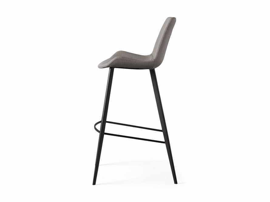 Gage Upholstered Barstool in Khaki, slide 6 of 6