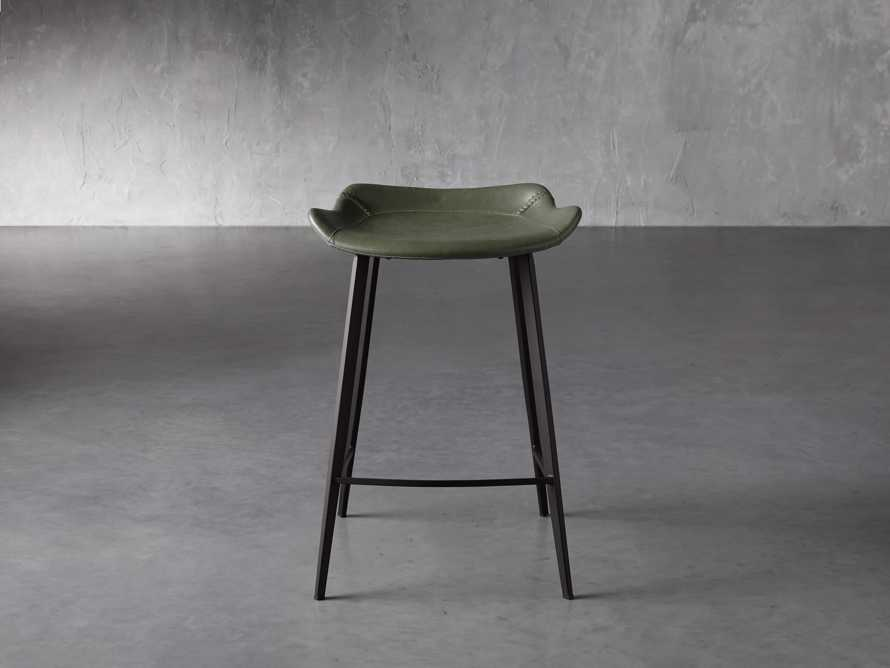 Gage Backless Counter Stool in Pine, slide 1 of 7