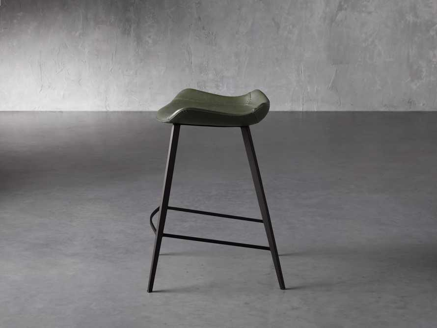 Gage Backless Counter Stool in Pine, slide 3 of 7
